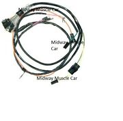 Engine Wiring Harness 66 Chevy Chevelle 396 Malibu Ss Ac And Gauge 1966