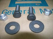 Correct Idler Arm Bolts And Nuts Chevelle Pontiac Gto Camaro T/a 64-72 68 69 70 71
