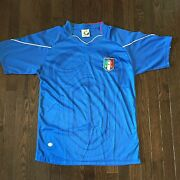 Italy Figc Magna Sports Jersey Eligio Mens Size M South Africa World Cup