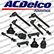 New Replacement Front Steering Kit Tie Rod End For 2wd Chevy S10 Blazer Jimmy