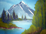 Peace Of Mind Original Landscape Oil Painting By - Jamie Morris-the Bee- Coa