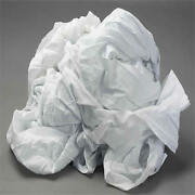100 Cotton White Wiping Rags Cleaning Cloth 25 Lb Box - Best Quality And Price