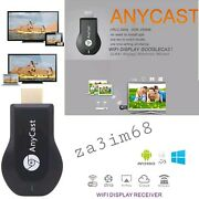 Anycast Wifi Display Receiver Miracast Tv Dongle Hdmi Dlna Airplay Hd 1080p