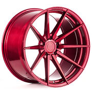 20andrdquo Rohana Rf1 Gloss Red Concave Wheels For Mercedes W204 W205 C43 C63 S