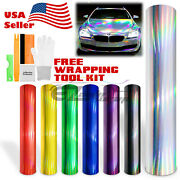 Holographic Rainbow Neo Chrome Car Vinyl Wrap Sticker Decal Air Bubble Free