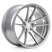 """22"""" Rohana Rf2 Brushed Titanium Wheels For Bentley Continental Gt Flying Spur"""