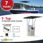 Oceansouth Boat T-top For Standard Center Console Boat Black Size 1
