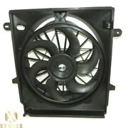 Radiator Cooling Fan Assembly Replacement For 01-11 Ford Ranger 2.3l W/ac