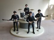 Rare Beatles Ornament Display By Applle Corps
