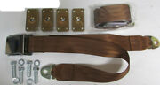 Copper Seat Belt 2 Point Copper Seatbelts 2 With Retrofit Mounting Kit 74
