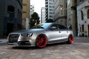 20andrdquo Rohana Rf1 Gloss Red Concave Wheels For Audi 4g8 A7 S7 2011 - Present