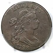 1798 S-173 R3 Pcgs Xf 40 2nd Hair Style Draped Bust Large Cent Coin 1c