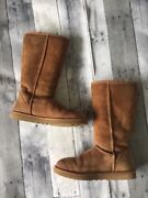 Size 8 Tall Chestnut Uggs Classic