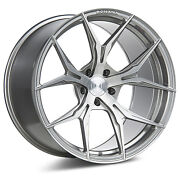20andrdquo Rohana Rfx5 Brushed Titanium Concave Wheels For Lexus Ls460 Ls600 20x9 20x10