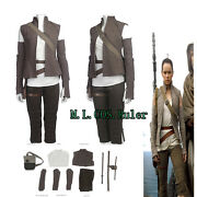 New Arrival Rey Cosplay Costume Full Suits Halloween Clothing