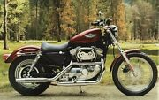 Harley Davidson Touch Up Paint 883 1200 Sportster Fat Boy Luxury Rich Red.