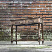 44 W Jackson Console Table Hand Carved Details Solid Wood Spectacular Quality