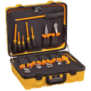 New Klein Tools 33525 13 Piece Insulated Utility Tool Kit