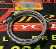 Midwest 58 Stainless Steel 3 Universal Brake Line For Harley And Customs