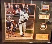 Barry Bonds Photograph Created By Carol Lawrance Gallery 244 N. Beverly Drive