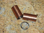 Ford Flathead 1932-34 Brake And Clutch Pedal Shaft Brass Bushings And Spring Washer