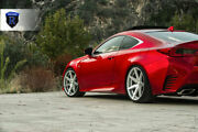 19andrdquo Rohana Rc7 Machined Silver Concave Wheels For G37 M35 M45 Q50 Is250 Is350