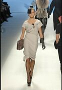 Louis Vuitton Collectable Iconic Runway Ad Campaign Rtw Sheath Dress. Size 10