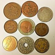 9 Misc Foreign Coins  Lot 11