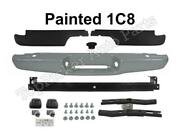 Painted 1c8 Rear Bumper Face Bar Pad Reinforce Bracket 8pc For 1995-2004 Tacoma