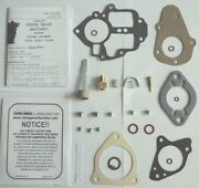 1940and039s-1950and039s Carb Kit Dodge Military Truck 6 Cylinder Carter Etw1 Bandb 1 Barrel