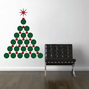 Christmas Tree Wall Decals Christmas Window Stickers Christmas Decorations H30