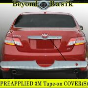 For 2007-2011 Toyota Camry Chrome Tailgate Cover Trunk Accent W/o Backup Cam