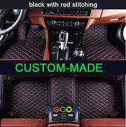Automotive Floor Mats For Fiat Freemont 7 Seats 2012-2016 All Weather 3d Carpets