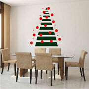 Modern Tree Wall Decal Christmas Window Stickers Christmas Decorations H32