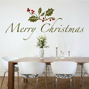 Christmas Quote Decal Christmas Window Stickers Christmas Decorations H49