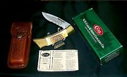 Case Xx 59l Lockback Knife And Sheath Usa Nahc Limited Edition W/packaging,papers