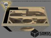 Stage 3 - Ported Subwoofer Mdf Enclosure For Jl Audio 13w7ae Sub Box