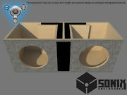 Stage 1 - Dual Ported Subwoofer Mdf Enclosure For Jl Audio 13w7ae Sub Box