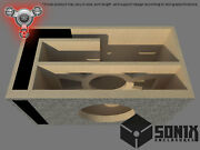 Stage 2 - Ported Subwoofer Mdf Enclosure For Jl Audio 13w7ae Sub Box