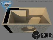 Stage 1 - Ported Subwoofer Mdf Enclosure For Jl Audio 13w7ae Sub Box