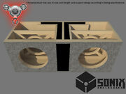 Stage 2 - Dual Ported Subwoofer Mdf Enclosure For Jl Audio 13w7ae Sub Box