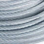 3/8 Galvanized Aircraft Cable Steel Wire Rope 7x19 1500 Feet