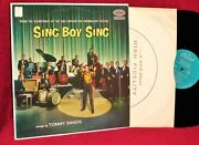 Ost Lp Sing Boy Sing Tommy Sands Lionel Newman 1958 Capitol Vg++