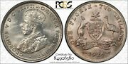 1926 Australia Florin In Pcgs Ms62 - Superb Uncirculated - Excellent Coin