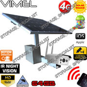 Home Security Camera 4g Farm Solar Wireless Mobile Phone Remote View 3g