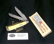 Case Xx 3254 Trapper's Knife Classic Yellow Usa 2017 W/packaging, Paperwork Nos