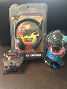How To Train Your Dragon 2 Bundle Headphone ,silly Bands And Bubble Bath Globe