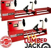 Wood Turning Starter Lathe 1 Metre With Variable Speed And Accessories Lumberjack