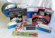 Wholesale Resale Lot Of 22 Assorted Holiday Christmas Lights Brand New