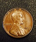 1926-s Lincoln Wheat Cent Penny - Better Scarcer Date - High Grade And Cud Error